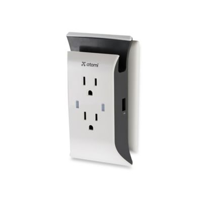 Atomi Visual Charge USB Wall Plate Charger and Power