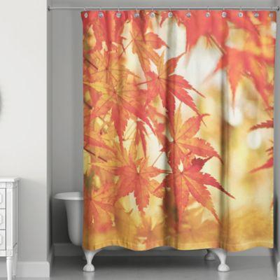 Autumn Leaves Shower Curtain Bed Bath & Beyond