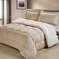 Sherpa Down Alternative Comforter Set - Bed Bath & Beyond