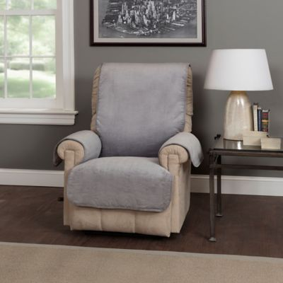 cost plus chair covers yankee stadium chairs waves recliner and wing protector - bed bath & beyond