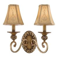 Minka Lavery Salon Grand 2-Light Wall Sconce in Florence ...