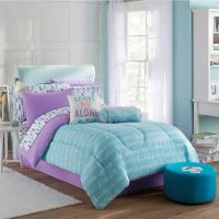 Claudette Comforter Set in Purple/Blue - Bed Bath & Beyond