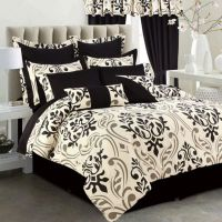 Buy Tribeca Living Prague 12-Piece Queen Comforter Set in ...