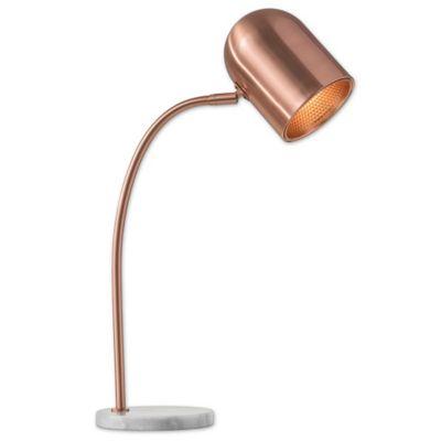 Adesso Simone Desk Lamp in Copper