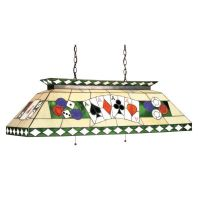 Stained Glass Billiard Light Fixture | Pool Table Fixtures