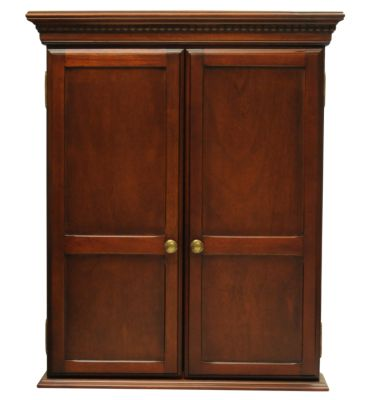 Wood Dartboard Cabinet