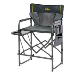 Ice Fishing Lawn Chair Revolving Half Back Camp Furniture Cabela S Canada Magnum Director