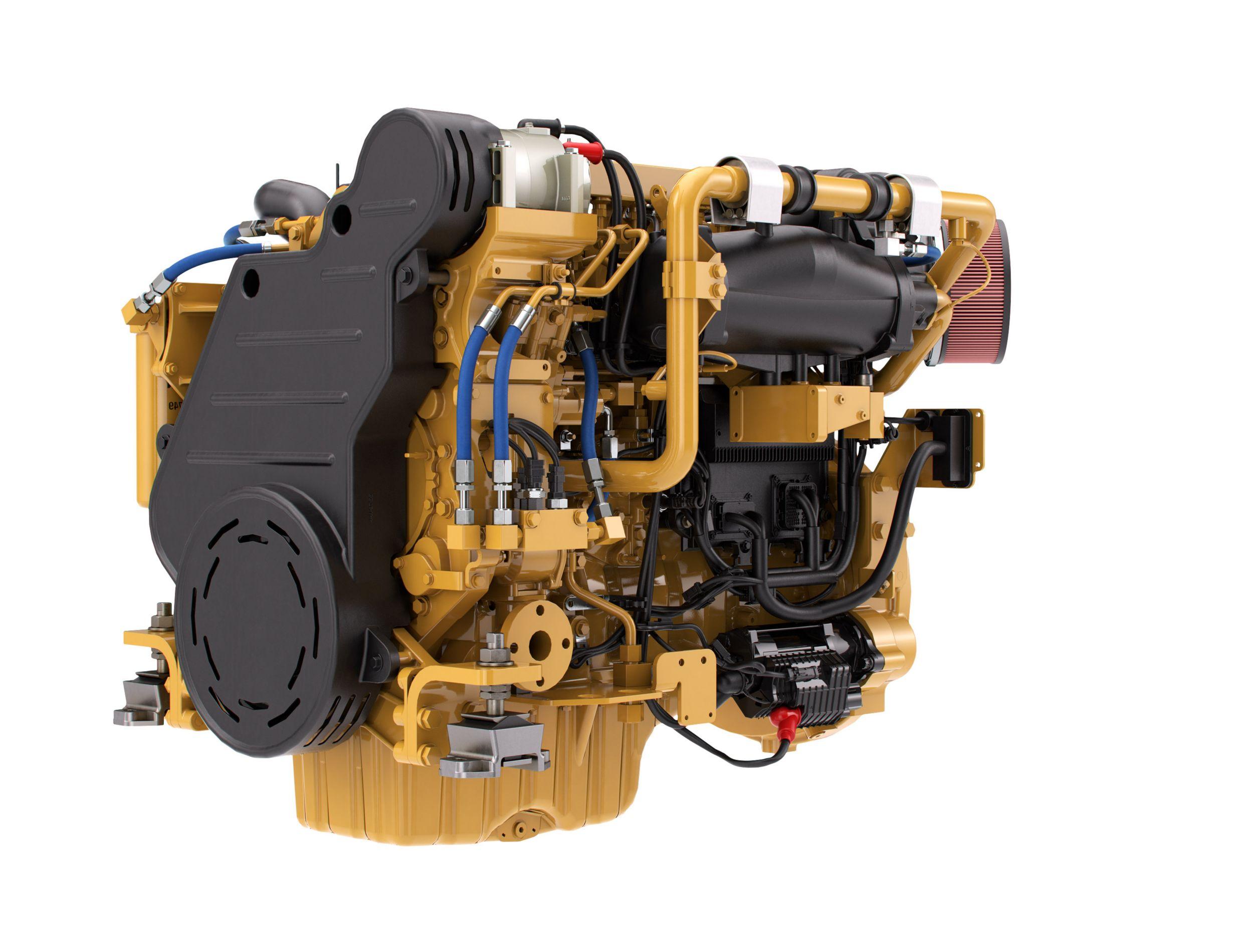 3126 Caterpillar Fuel Filter Truck Cat C9 3 Marine Generator Set Auxiliary Engine