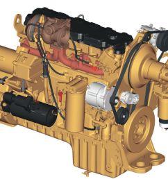 the cat c9 engine  [ 1200 x 780 Pixel ]