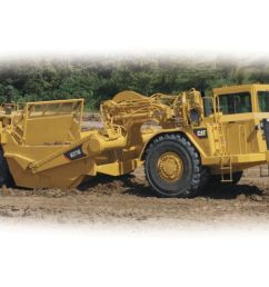 quick loading high travel speeds and the ability to load and dump on the run yield fast cycle times allowing caterpillar wheel tractor scrapers to  [ 1200 x 800 Pixel ]