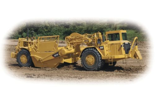 small resolution of quick loading high travel speeds and the ability to load and dump on the run yield fast cycle times allowing caterpillar wheel tractor scrapers to