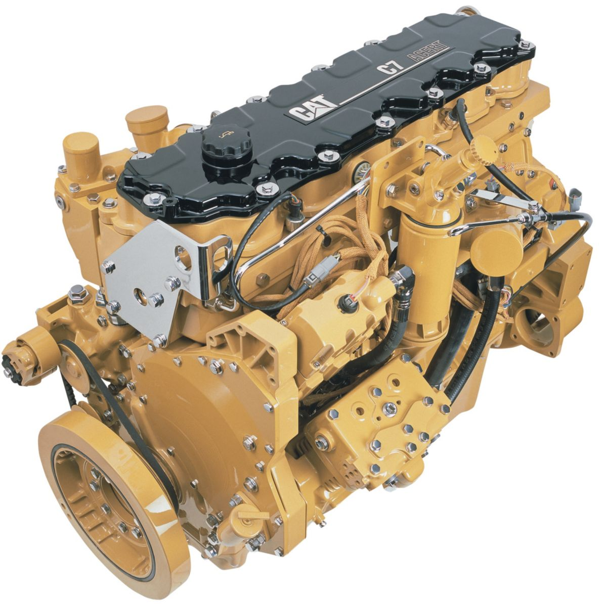 hight resolution of cat c7 engine with acert technology