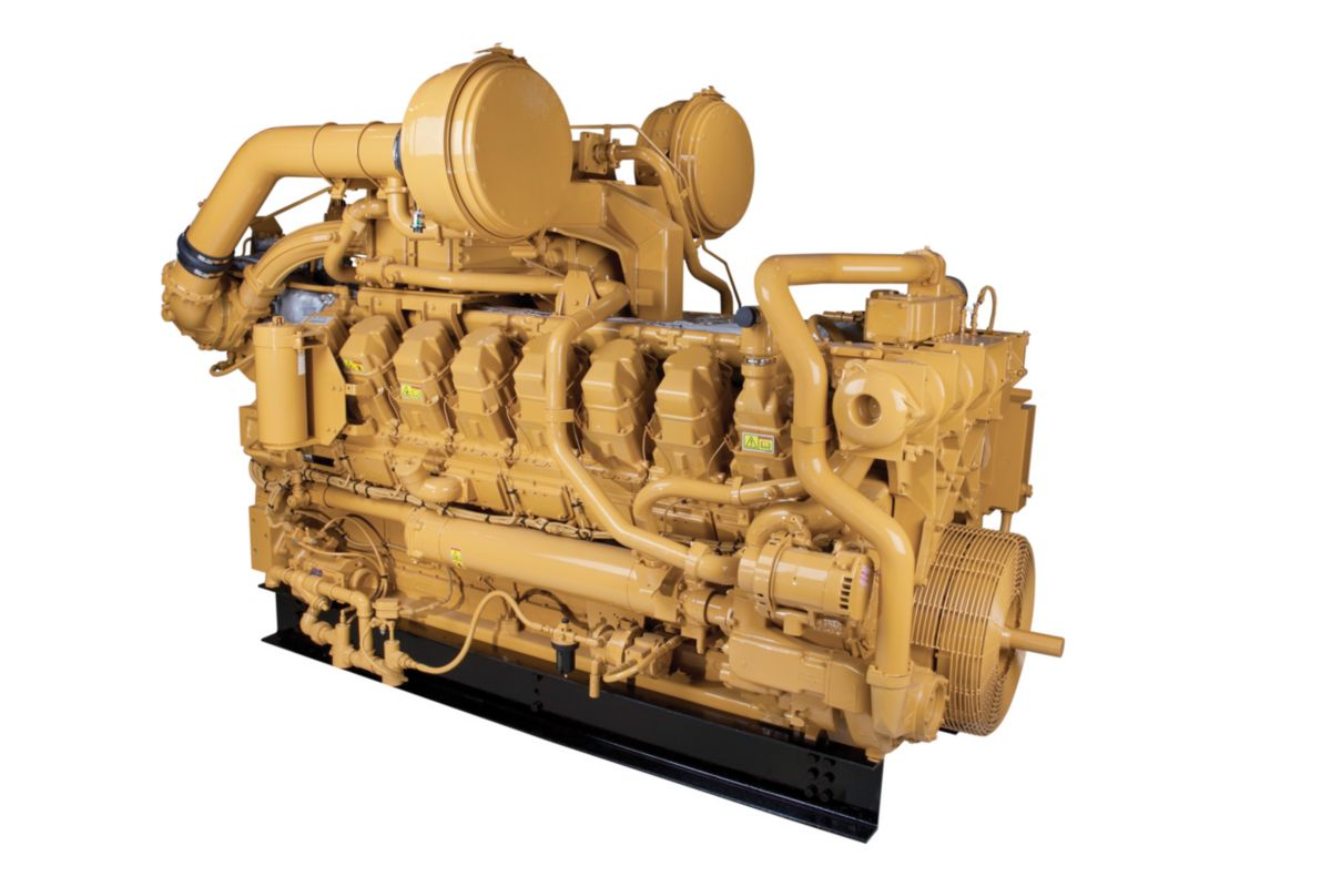 hight resolution of gas compression engines