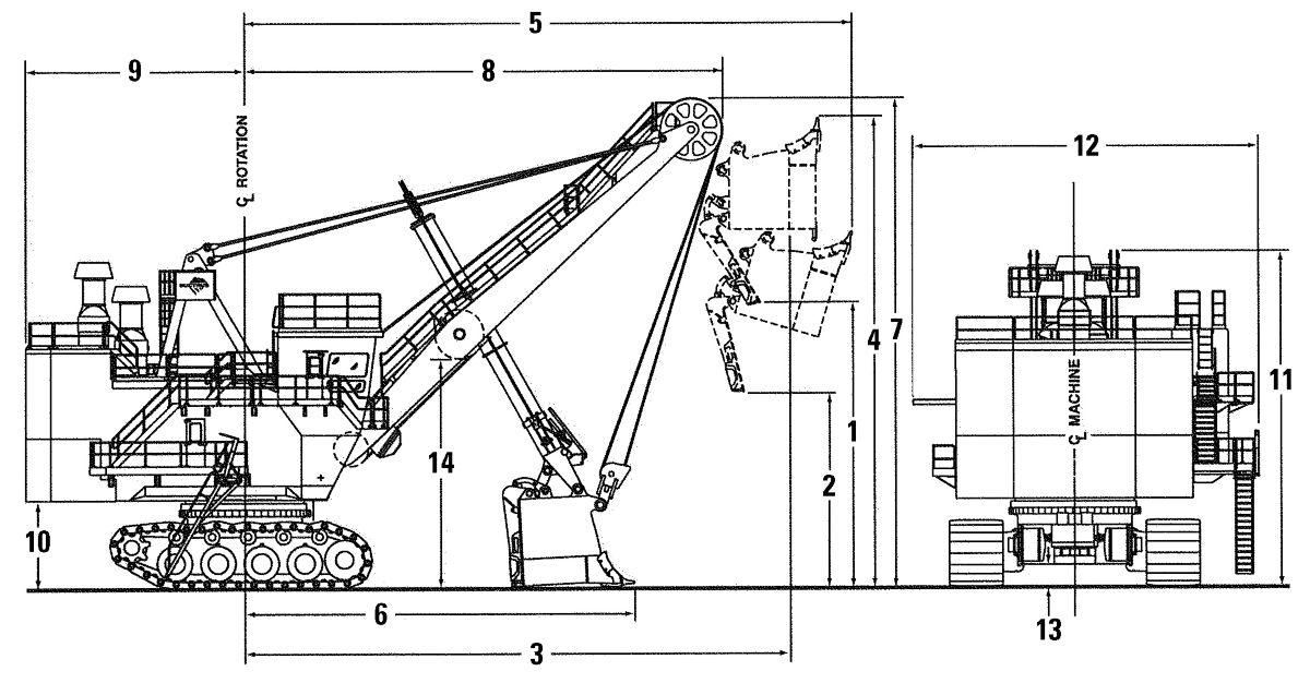 hight resolution of 7395 electric rope shovel