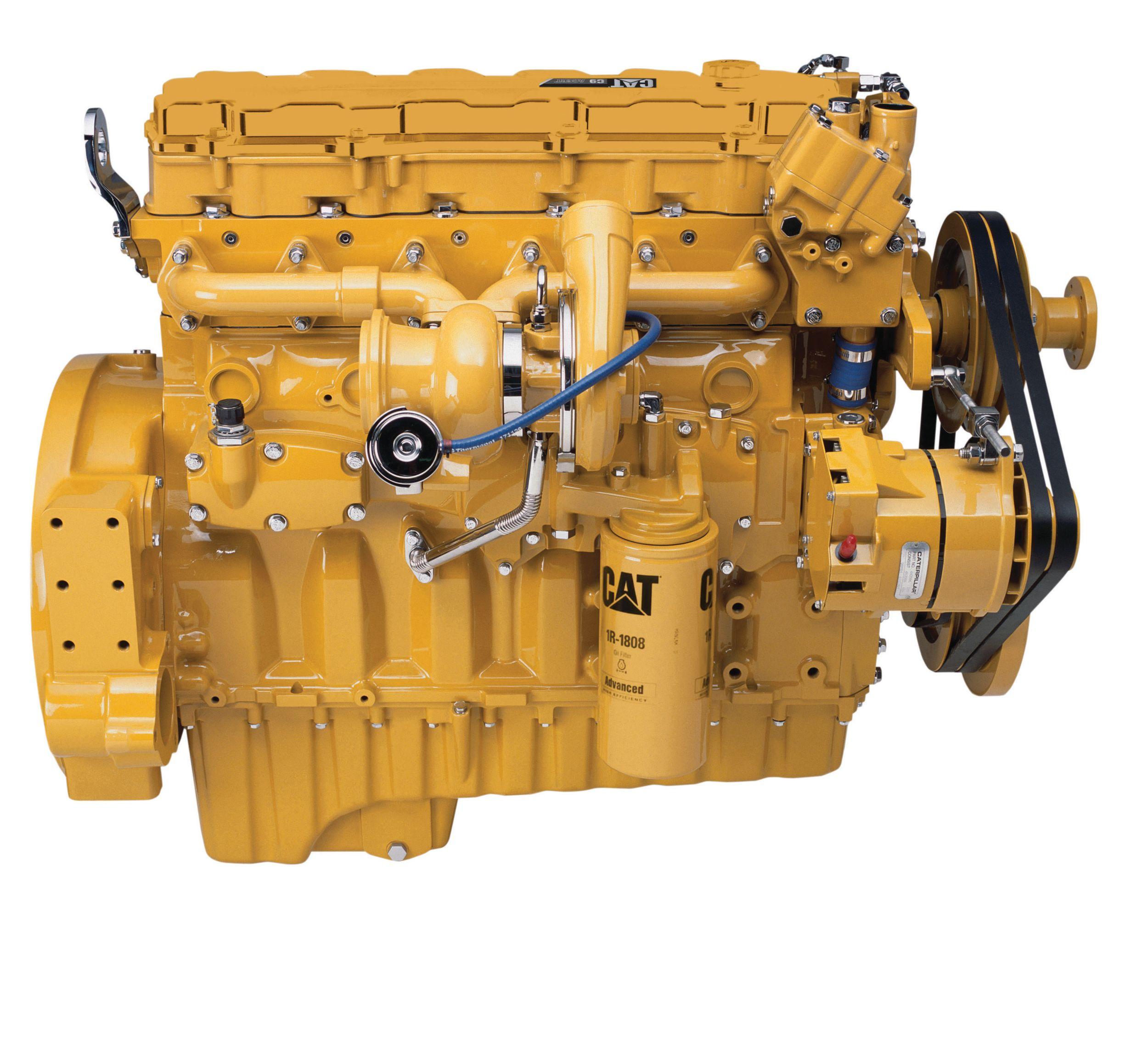Cat | Motor C9 ACERT™ con múltiple enfriado por agua