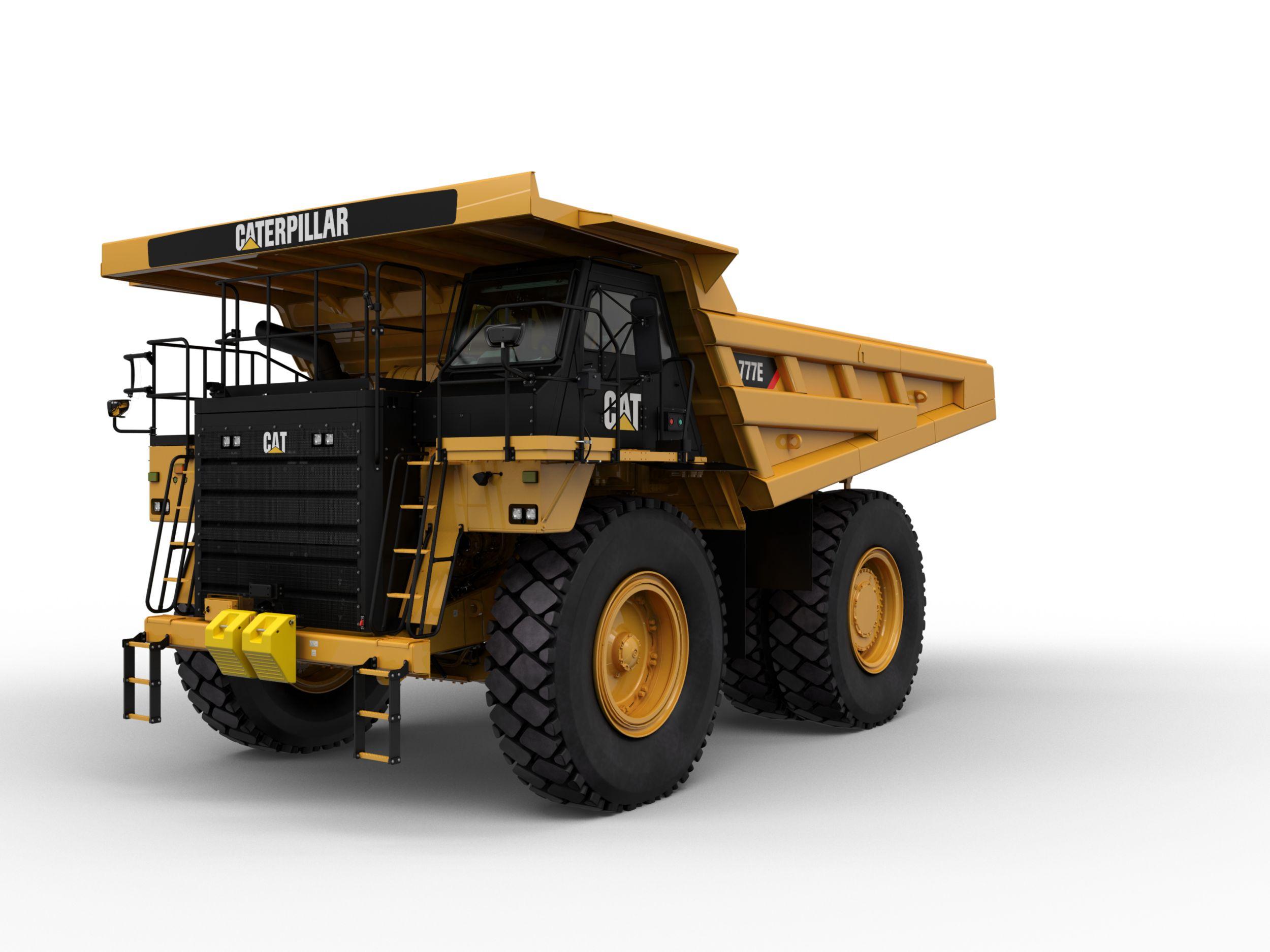 detroit series 60 ecm wiring diagram levels data flow cat off highway trucks road dump caterpillar 777e
