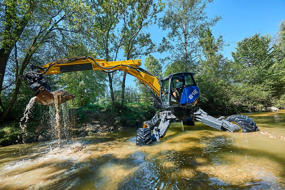 kaiser s spider excavator