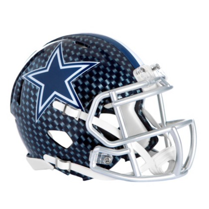 cowboys football helmet chair banquet covers amazon home decor office gear dallas pro shop riddell speed mini carbon blue