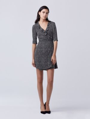 DVF Wrap Silk Dress
