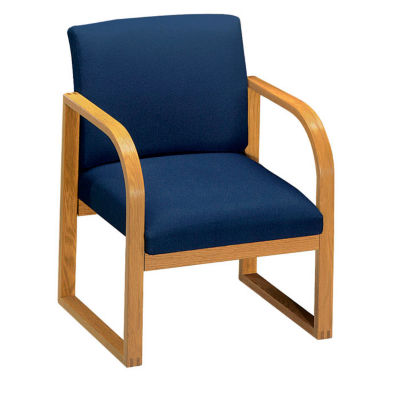 wooden library chair stackable rolling chairs seating dallasmidwest com compare fabric sled base c90022