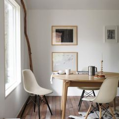Eames Style Plastic Chair Elmo Sofa Molded Side Dowel Base Herman Miller Leg Dsw