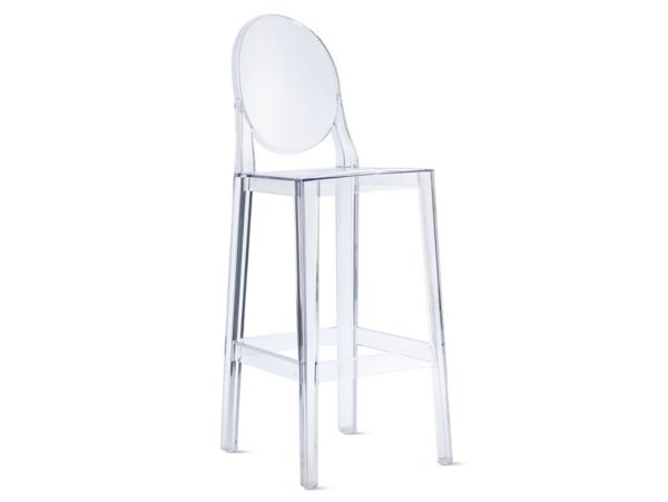 ghost chair bar stool leather chairs of bath amsterdam victoria design within reach one more barstool
