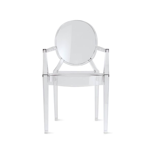 victoria ghost chair metal lounge louis design within reach