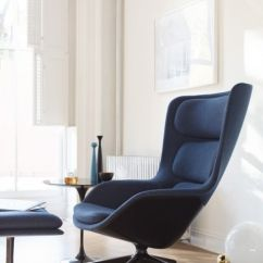 Swivel Chair And Ottoman Inexpensive Dining Chairs Striad High-back Lounge - Herman Miller