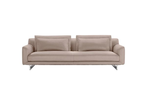 loft charcoal sofa bed wall living divani modern sofas and sleeper design within reach