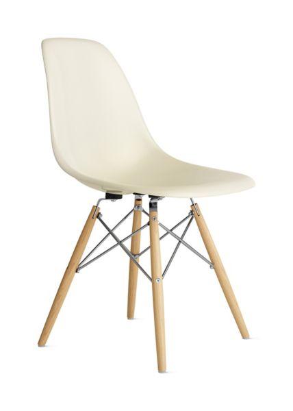 eames fiberglass chair room essentials molded side dowel base herman miller