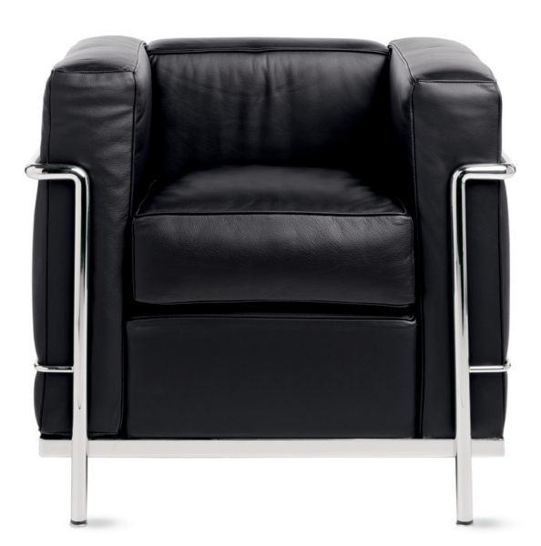 le corbusier chair swing jb lc2 petit modele armchair design within reach