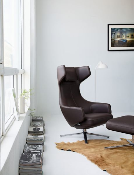 Grand Repos Lounge Chair and Ottoman  Design Within Reach