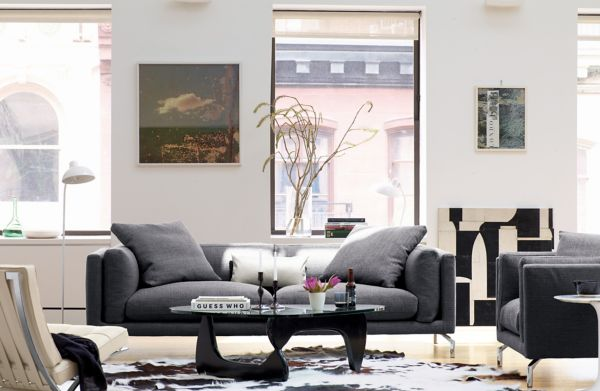 dwr bay sleeper sofa review accent chairs to go with leather raleigh collection designed by jeffrey