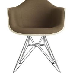Eames Arm Chair Bruno Lift Accessories Molded Fiberglass Armchair Wire Base Upholstered Herman Miller