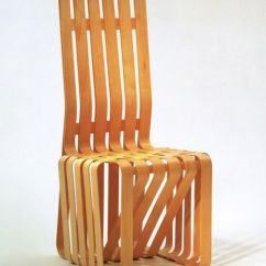 Frank Gehry Chair Serta Jennings Review Cross Check Armchair Design Within Reach High Sticking Back
