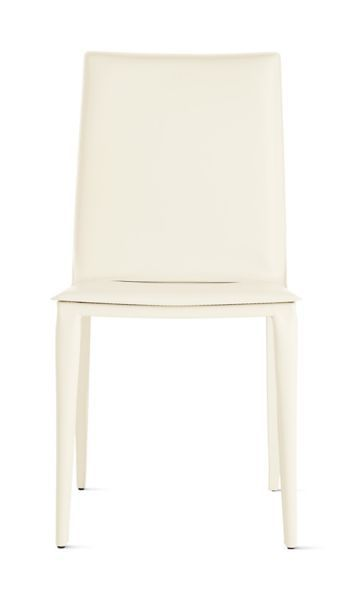 leather side chair hanging urban outfitters bottega design within reach