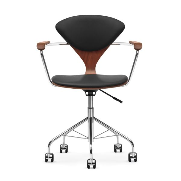 Cherner Task Chair with Upholstered Seat Pads  Design