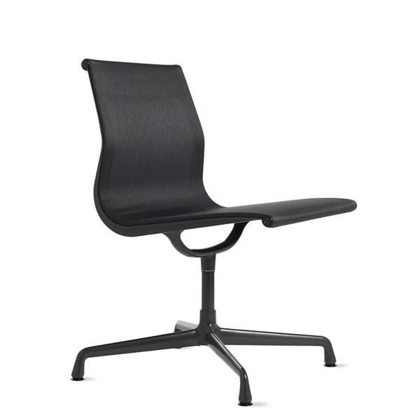 outdoor aluminum chairs all purpose salon reclining white eames group side chair herman miller