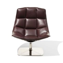 Jehs Laub Lounge Chair Tufted Desk No Wheels And Pedestal Base Design Within Reach