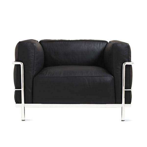 LC3 Grand Modele Armchair with Down Cushions  Design