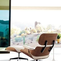 Eames Chair White Power Chairside Table Lounge Design Within Reach