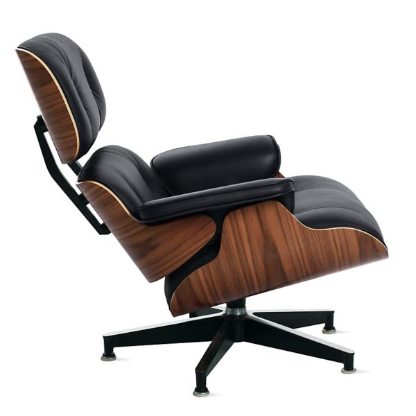 lounge chair leather rv recliner eames design within reach