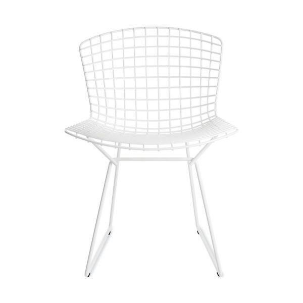 bertoia side chair wingback with ottoman design within reach