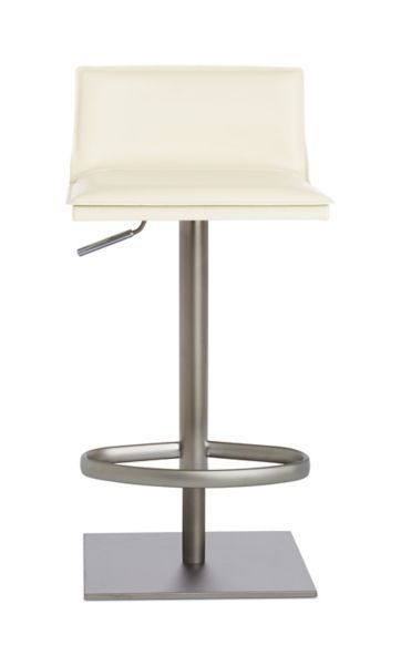 adjustable height chairs steel chair making machine bottega piston stool design within reach