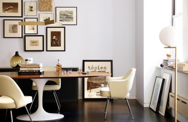 tulip table and chairs bath chair accessories saarinen oval dining design within reach