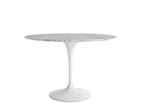 white round kitchen table glass saarinen dining design within reach