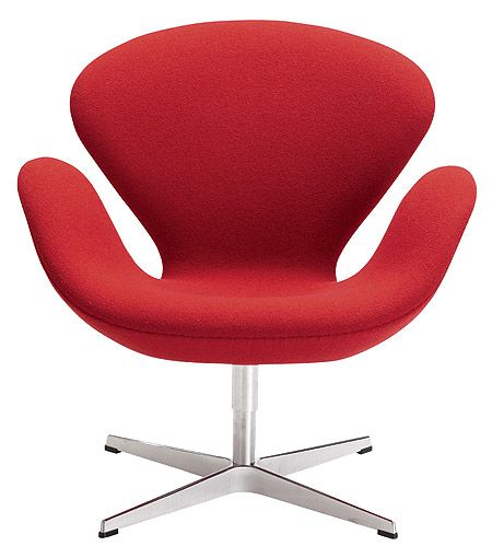 arne jacobsen swan chair wingback covers gray design within reach