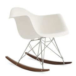 Arm Chair Rocker Office Covers Ikea Eames Molded Plastic Armchair Base Herman Miller