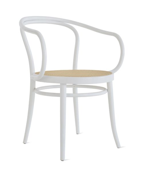 bentwood cane seat chairs chair step stool with slide out steps era round armchair design within reach
