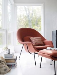 Womb Chair and Ottoman - Design Within Reach